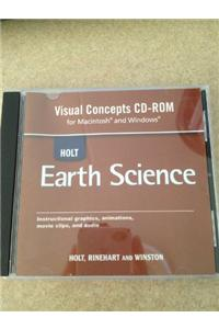 Holt Earth Science: Visual Concept CD
