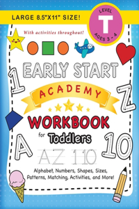 Early Start Academy Workbook for Toddlers