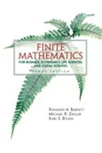 Finite Mathematics Busns Econ Life Sci& Soc