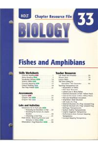 Cr 33 Fishes & Amphibns Biology 2004