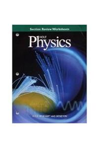Section Review Worksheets Holt Physics