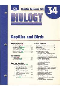 Cr 34 Reptiles & Birds Biology 2004