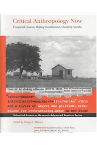Critical Anthropology Now: Unexpected Contexts, Shifting Constituencies, Changing Agendas