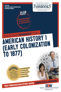 American History I (Early Colonization to 1877)