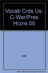 Vocab Crds Us: C-War/Pres Hrzns 05