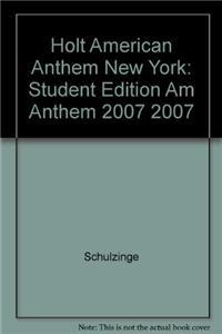 Holt American Anthem New York