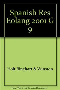 Spanish Res Eolang 2001 G 9