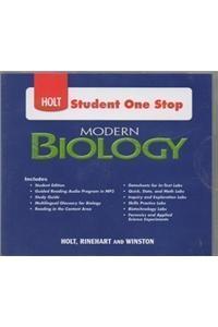 Modern Biology: Student One Stop CD-ROM 2009