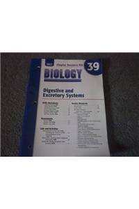 Cr 39 Digestv/Excretory Biology 2004