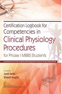 Certification Logbook for Competencies in Clinical Physiology Procedures