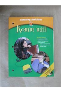 Holt Komm Mit!: Listening Activities Level 2