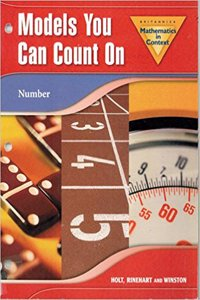 Holt Math in Context: Models You Can Count on Grade 6