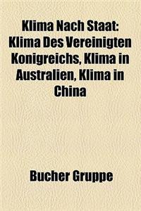 Klima Nach Staat: Klima (Deutschland), Zeitreihe Der Lufttemperatur in Deutschland, Klima Des Vereinigten Konigreichs, Klima in Australi