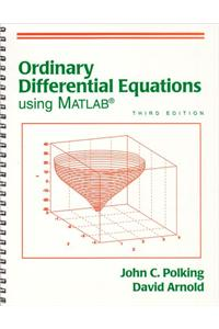 Ordinary Differential Equations Using MATLAB