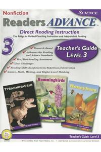Readers Advance Teacher's Guide, Level 3 [With CDROM]