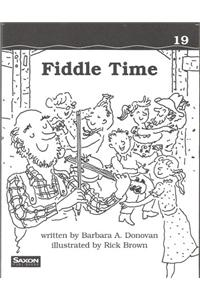 Saxon Phonics & Spelling 1: Decodeable Reader Fiddle Time