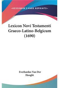 Lexicon Novi Testamenti Graeco-Latino-Belgicum (1690)