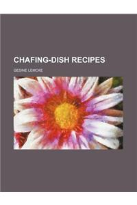 Chafing-Dish Recipes