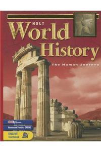 Holt World History: Human Journey: Student Edition Grades 9-12 2003