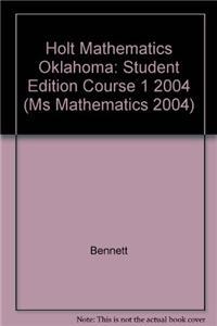 Holt Mathematics: Student Edition Course 1 2004