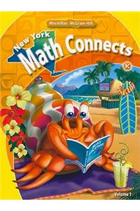 New York Math Connects, Kindergarten, Volume 1