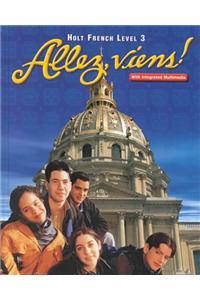 Holt Allez, Viens!: Student Edition Level 3 2000