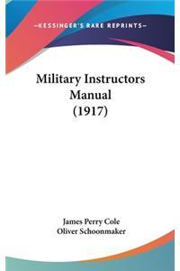 Military Instructors Manual (1917)