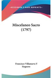 Miscelaneo Sacro (1797)
