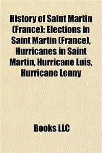 History of Saint Martin (France)