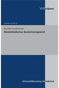 Niederlandisches Bereicherungsrecht