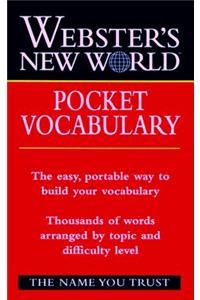 Webster's New Worldo Pocket Vocabulary