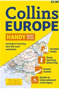 2010 Collins Europe Handy Road Atlas