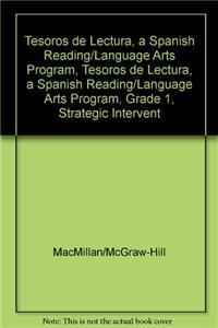 Tesoros de Lectura, a Spanish Reading/Language Arts Program, Grade 1, Strategic Intervention Phonemic Awareness Teachers Edition