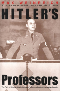 Hitler's Professors: Second Edition