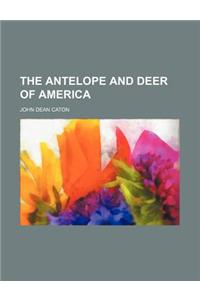 The Antelope and Deer of America