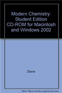 Modern Chemistry: Student Edition CD-ROM for Macintosh and Windows 2002