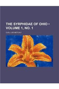 The Syrphidae of Ohio (Volume 1, No. 1)