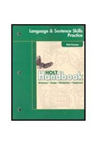 Holt Handbook: Developing Language Practice Grade 9