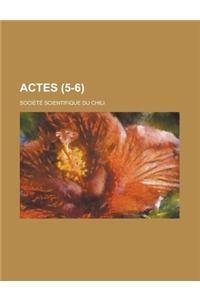 Actes (5-6 )