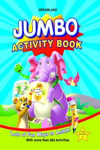 Jumbo Activity Book