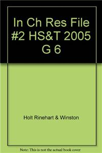 In Ch Res File #2 HS&T 2005 G 6