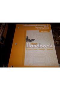 Holt Handbook: Developing Language Practice Grade 11
