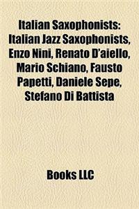 Italian Saxophonists