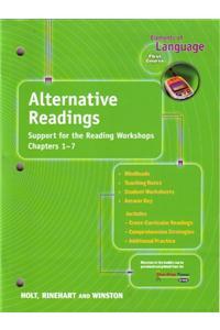 Holt Elements of Language: Alternative Readings Grade 07