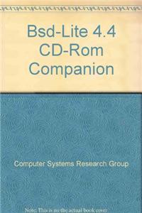 BSD-Lite 4.4 CD-ROM Companion