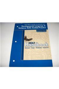 Dev Lang/Prac Ansky Hlt Hndbk G 06 2003
