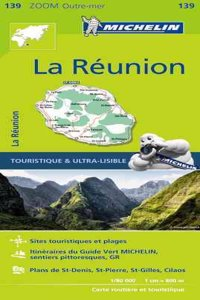 Michelin Reunion Map 139