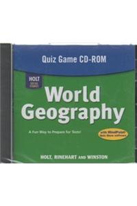 Holt World Geography: Quiz Game CD