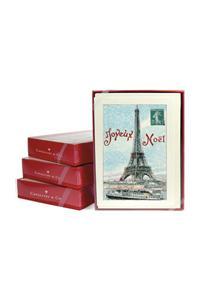 Eiffel Joyeux Noel Boxed Notecards