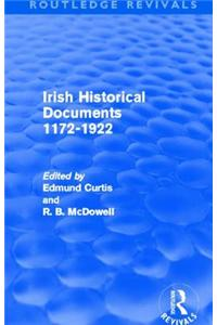 Irish Historical Documents, 1172-1972